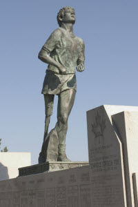 Terry Fox Monument in Thunder Bay Ontario